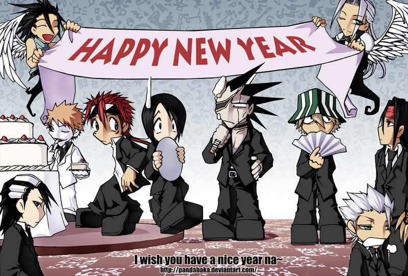 happy new year bleach anime 3322578 800 542