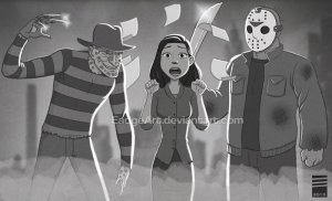 paper_freddy_vs_jason_by_eadgeart-d6rw5tg