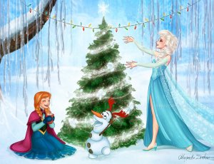 christmas_in_arendelle_by_ribkadory-d6x8rb7