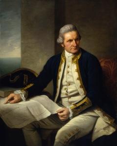 Captain James Cook(1728-1779). Nathaniel Dance.  BHC2628
